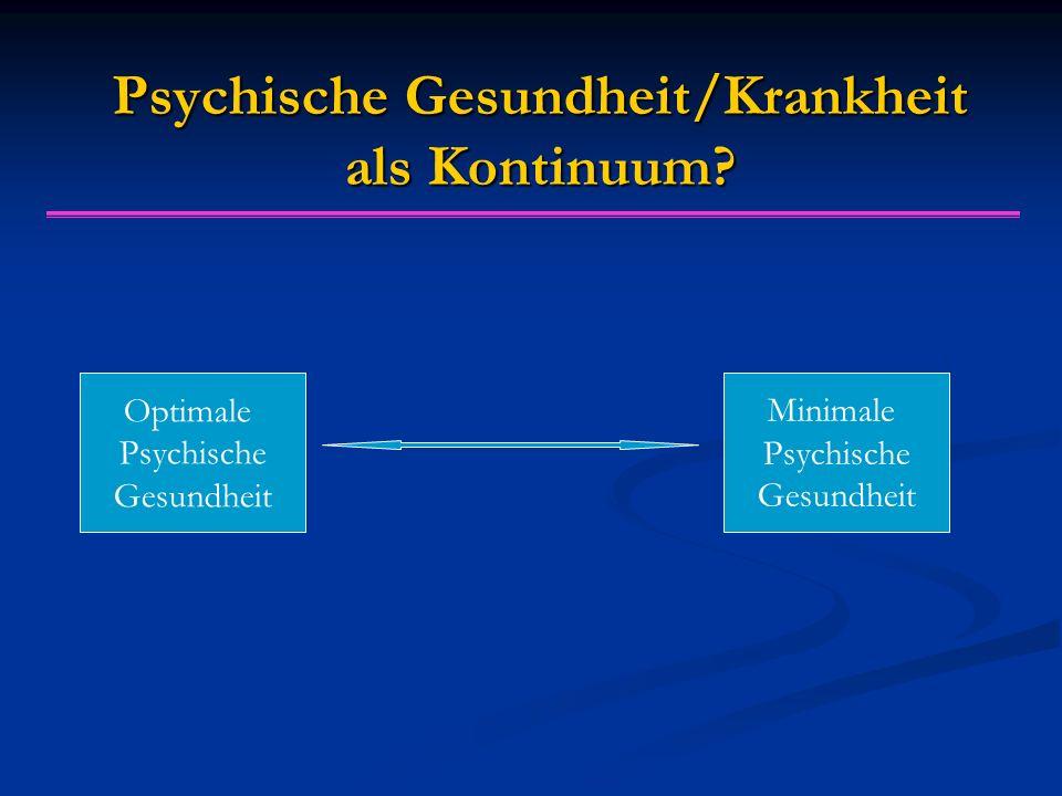"""Diagnose """"Psychische Störung ist Grundlage für wichtige Entscheidungen: z.B."""