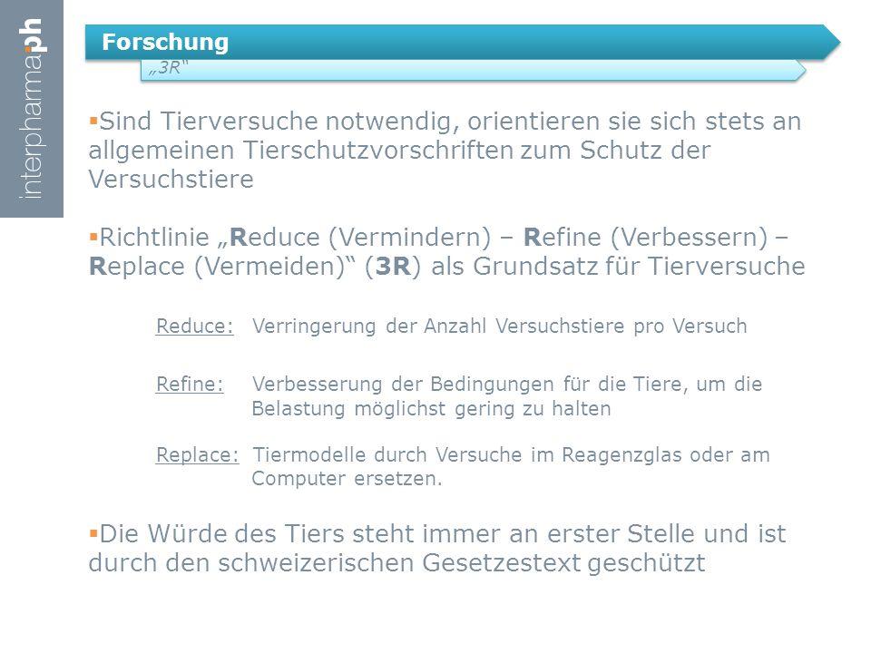 """Forschung """"3R"""