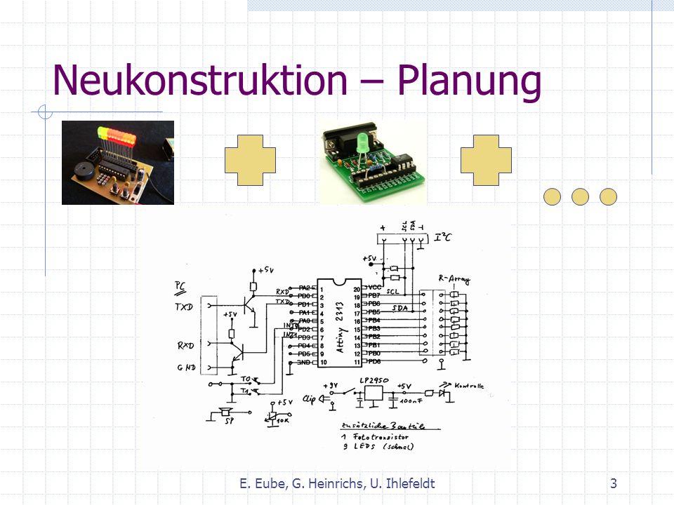 Neukonstruktion – Testen E. Eube, G. Heinrichs, U. Ihlefeldt4