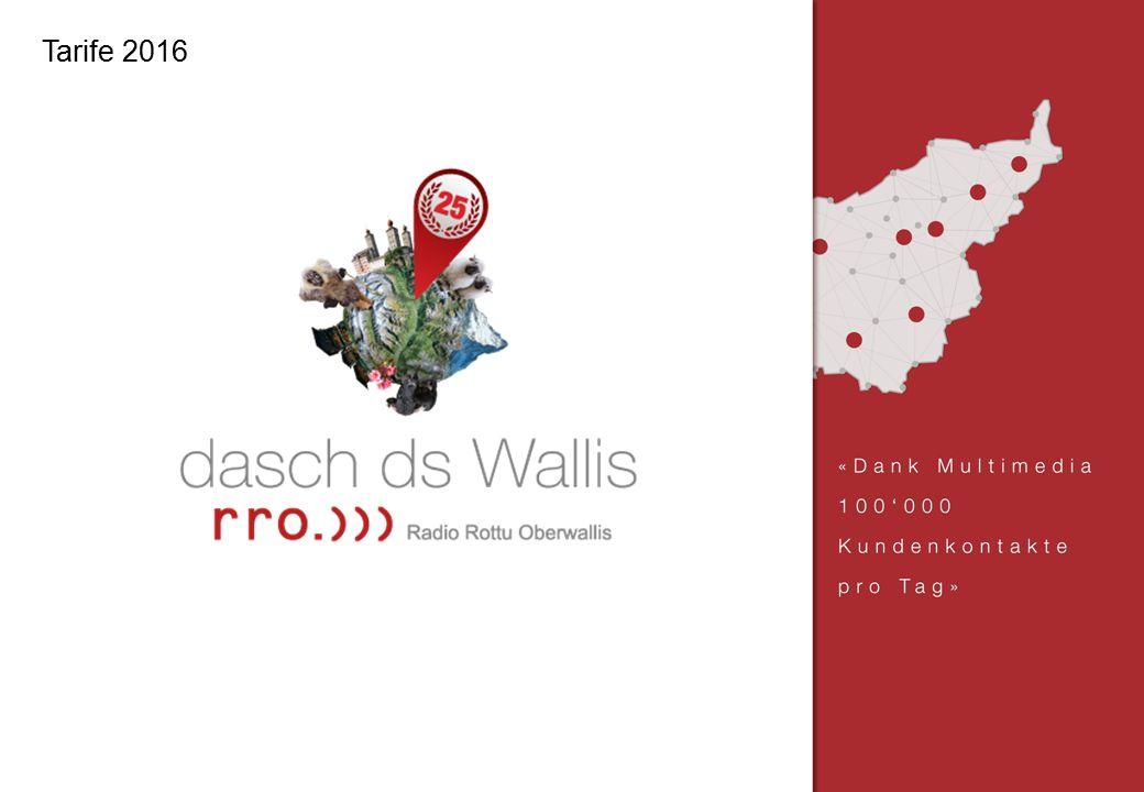 Radio Rottu Oberwallis AG   Treichweg 1   Postfach   3930 Visp   Tel.