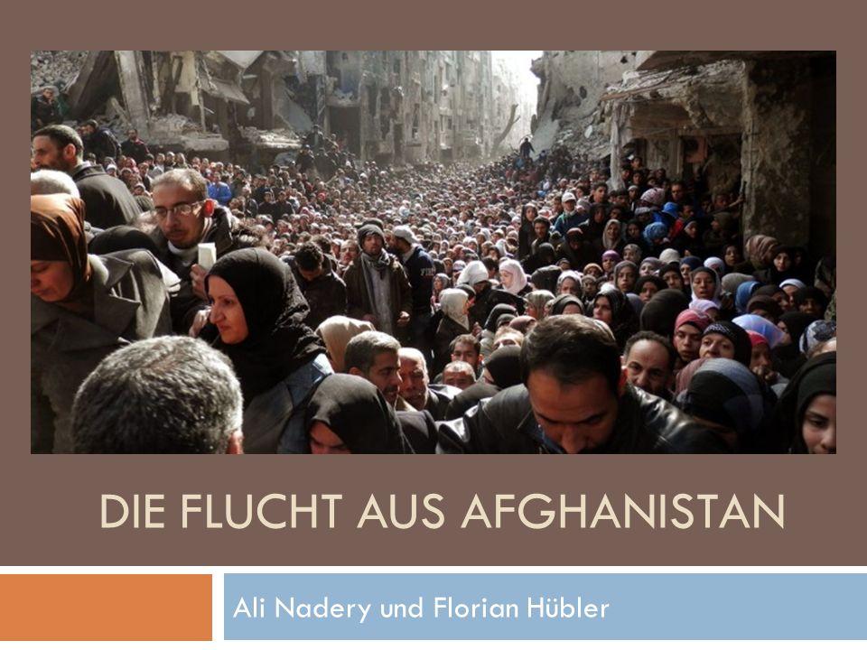 DIE FLUCHT AUS AFGHANISTAN Ali Nadery und Florian Hübler