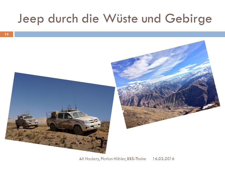 Jeep durch die Wüste und Gebirge 16.03.2016 13 Ali Nadery, Florian Hübler, BBS-Thuine