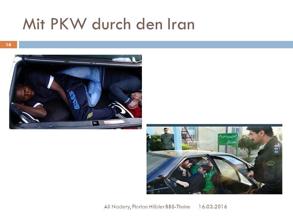 Mit PKW durch den Iran 16.03.2016 16 Ali Nadery, Florian Hübler BBS-Thuine