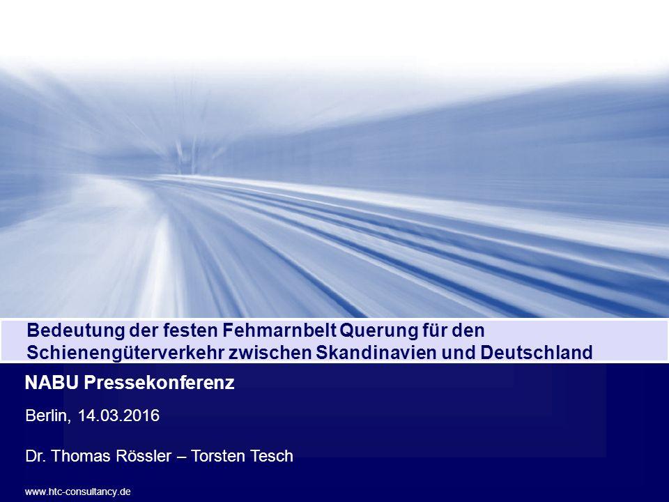 Hanseatic Transport Consultancy 1 Verkehrsverlagerung auf die Schiene Berlin, 14.03.2016 Dr.