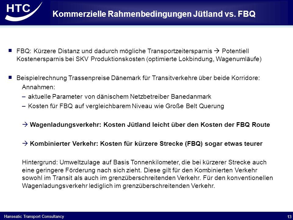 Hanseatic Transport Consultancy Kommerzielle Rahmenbedingungen Jütland vs.