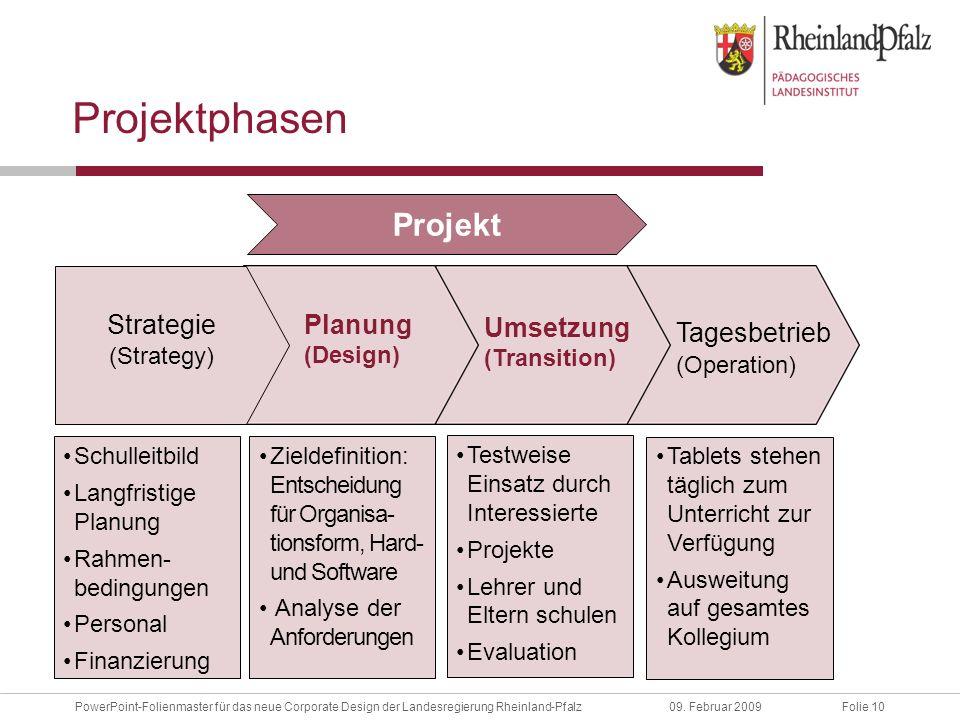 Folie 10PowerPoint-Folienmaster für das neue Corporate Design der Landesregierung Rheinland-Pfalz09.