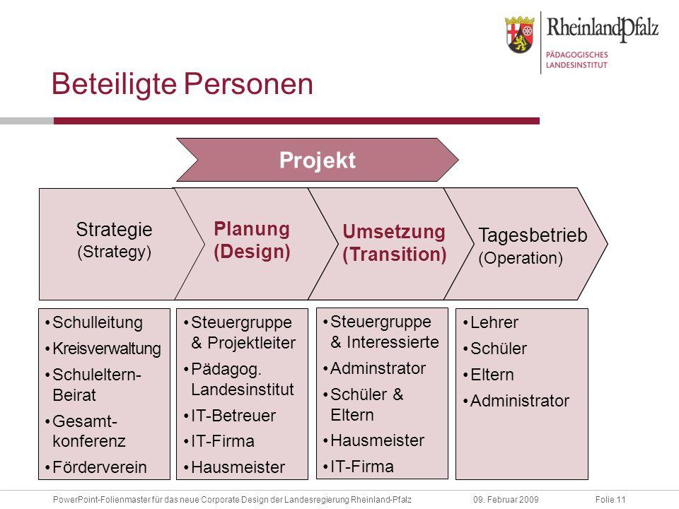 Folie 11PowerPoint-Folienmaster für das neue Corporate Design der Landesregierung Rheinland-Pfalz09.