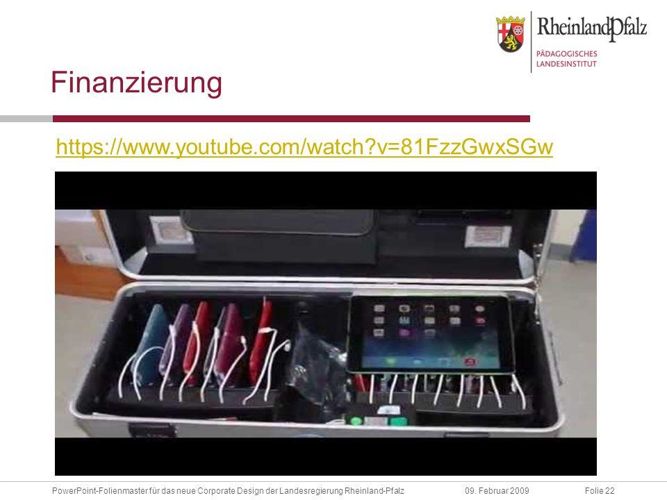 Folie 22PowerPoint-Folienmaster für das neue Corporate Design der Landesregierung Rheinland-Pfalz09.