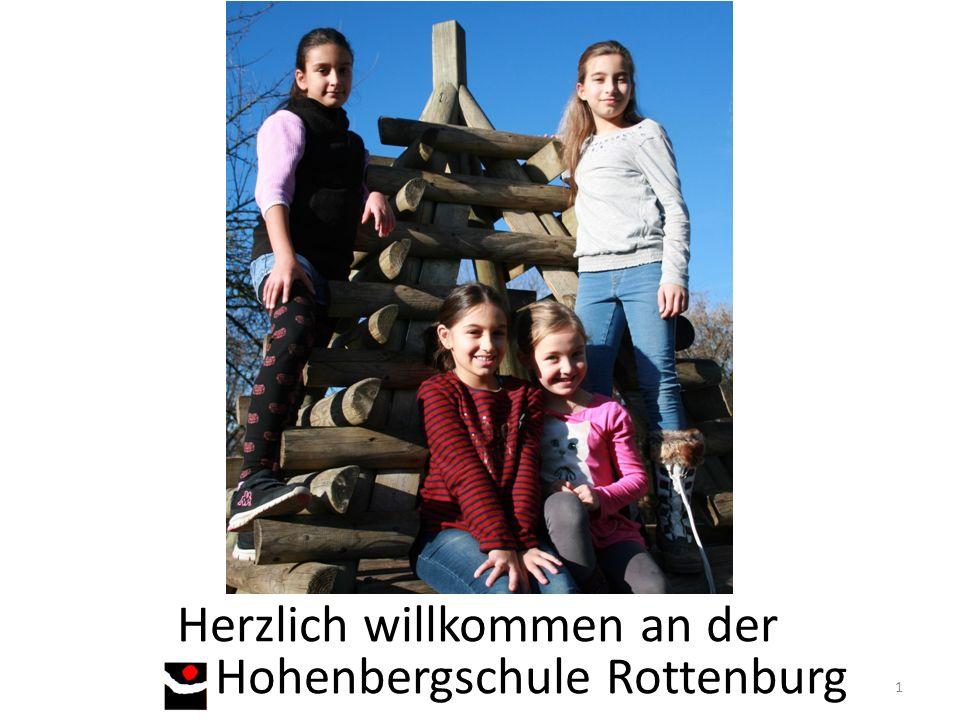 Herzlich willkommen an der Hohenbergschule Rottenburg 1
