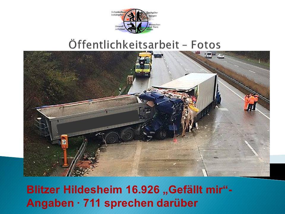 """Blitzer Hildesheim 16.926 """"Gefällt mir - Angaben · 711 sprechen darüber"""