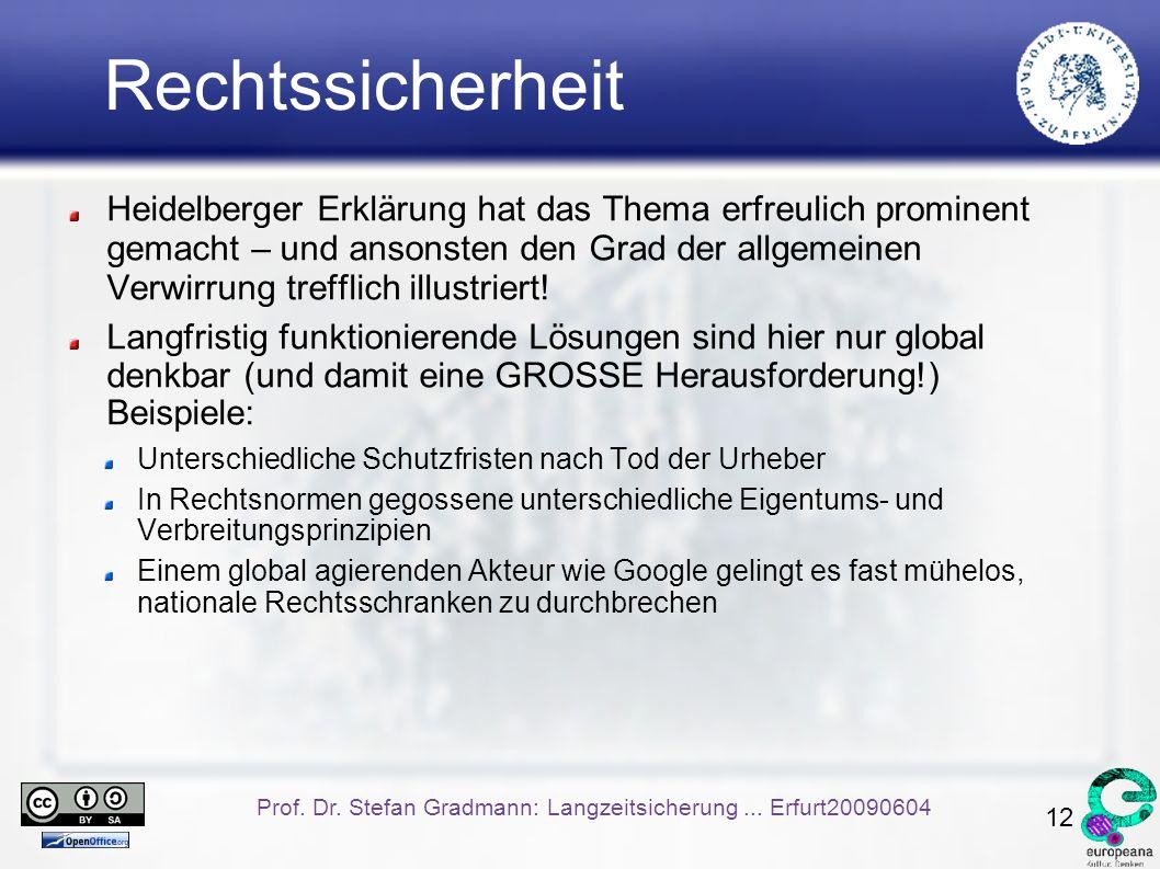 12 Prof. Dr. Stefan Gradmann: Langzeitsicherung...