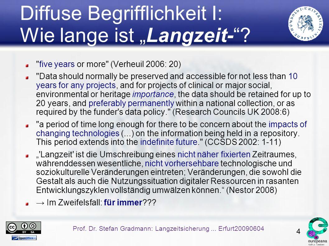 5 Prof.Dr. Stefan Gradmann: Langzeitsicherung...