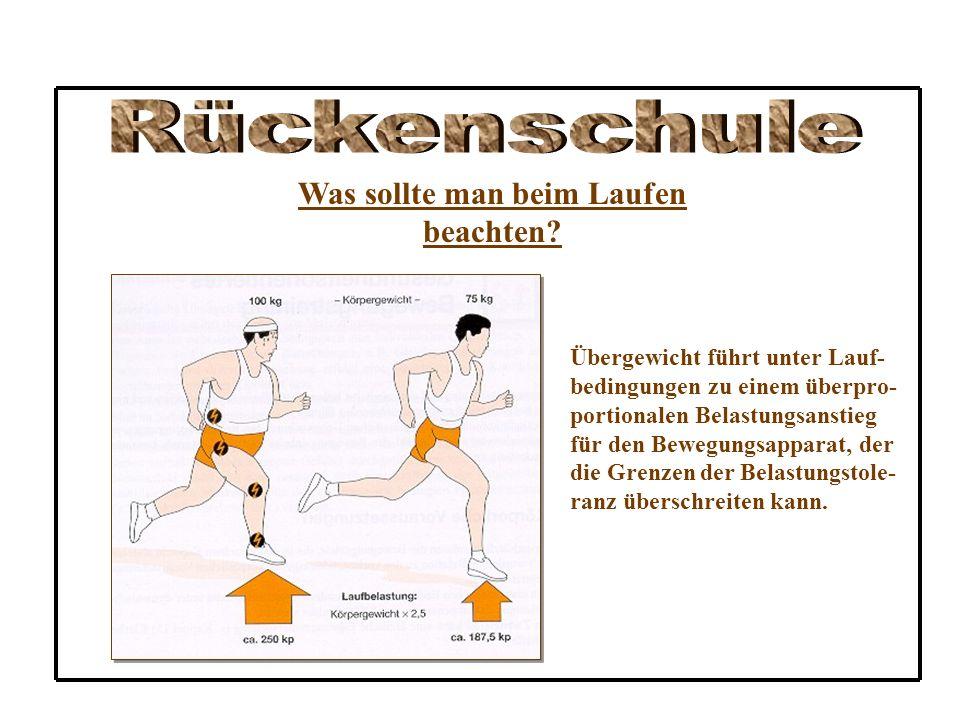 9.Treibe Sport, am besten Kraul – oder Rückenschwimmen, Laufen oder Radfahren .