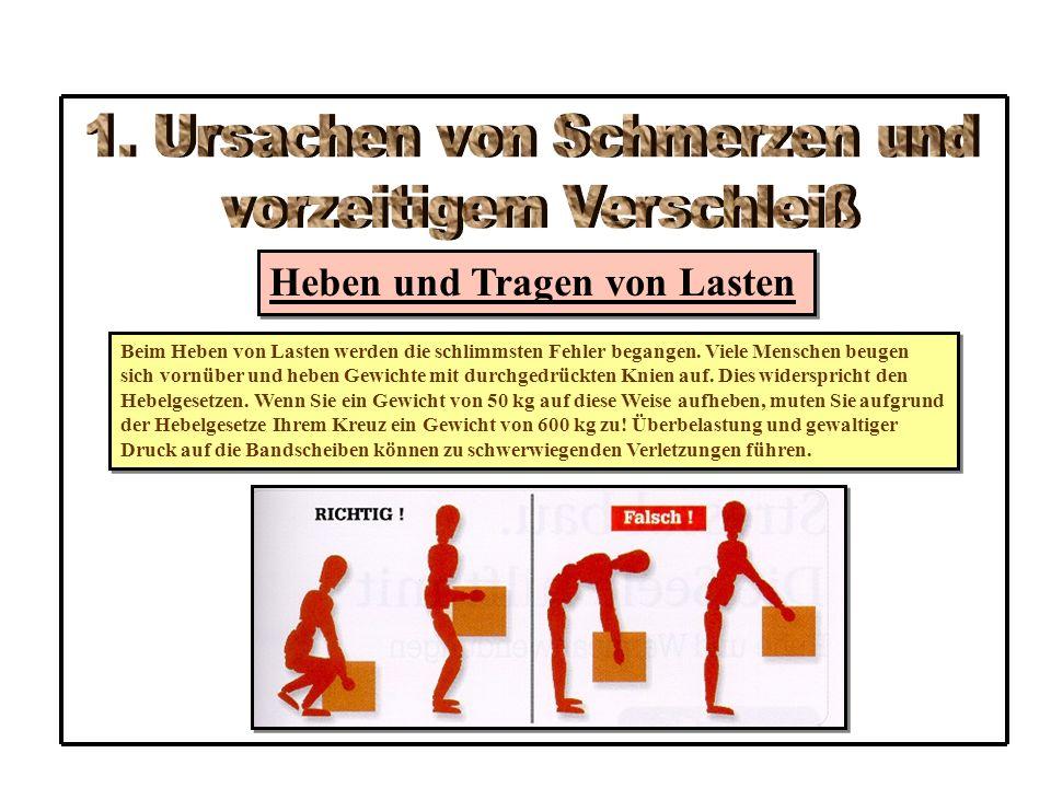 4.1 Grundspannung in der Rückenlage AS:RL – Beine gebeugt – Füße am Boden (Füße nicht zu weit an das Gesäß ziehen) - Arme gestreckt leicht abgespreizt neben dem Körper ÜA: - Bauchmuskulatur spannen - Gesäßmuskulatur spannen - den oberen Beckenrand auf den Boden drücken, um den Zug des Lendenarmbein- muskels auf die WS nicht zu verstärken (Verstärkung der Lordose) - Halswirbel aufrichten (Kinn leicht zur Brust ziehen ohne den Kopf vom Boden abzuheben - Spannung ca.