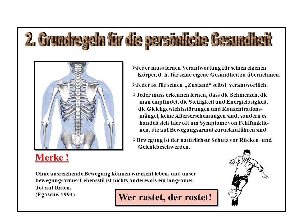4.2 Grundspannung in der Bauchlage AS:BL – Beine gestreckt – Fußrücken auf der Unterlage – Kopf mit der Stirn auf der Unterlage – Arme locker und entspannt in U – Halte auf der Unterlage – Zur Vermeidung einer Hohlkreuzstellung ein festes Kissen oder eine zusammengelegte Decke unter den Bauch legen ÜA: - Bauchmuskulatur spannen - Gesäßmuskulatur spannen - Fußrücken gegen die Unter- lage drücken - Spannung ca.