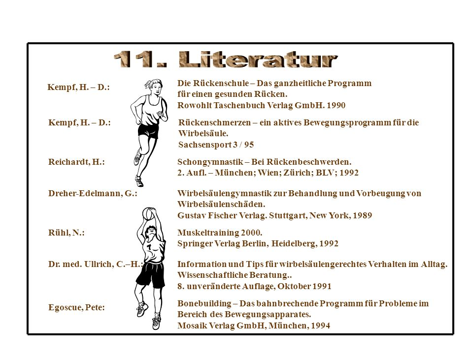 Kempf, H.– D.: Reichardt, H.: Dreher-Edelmann, G.: Rühl, N.: Dr.
