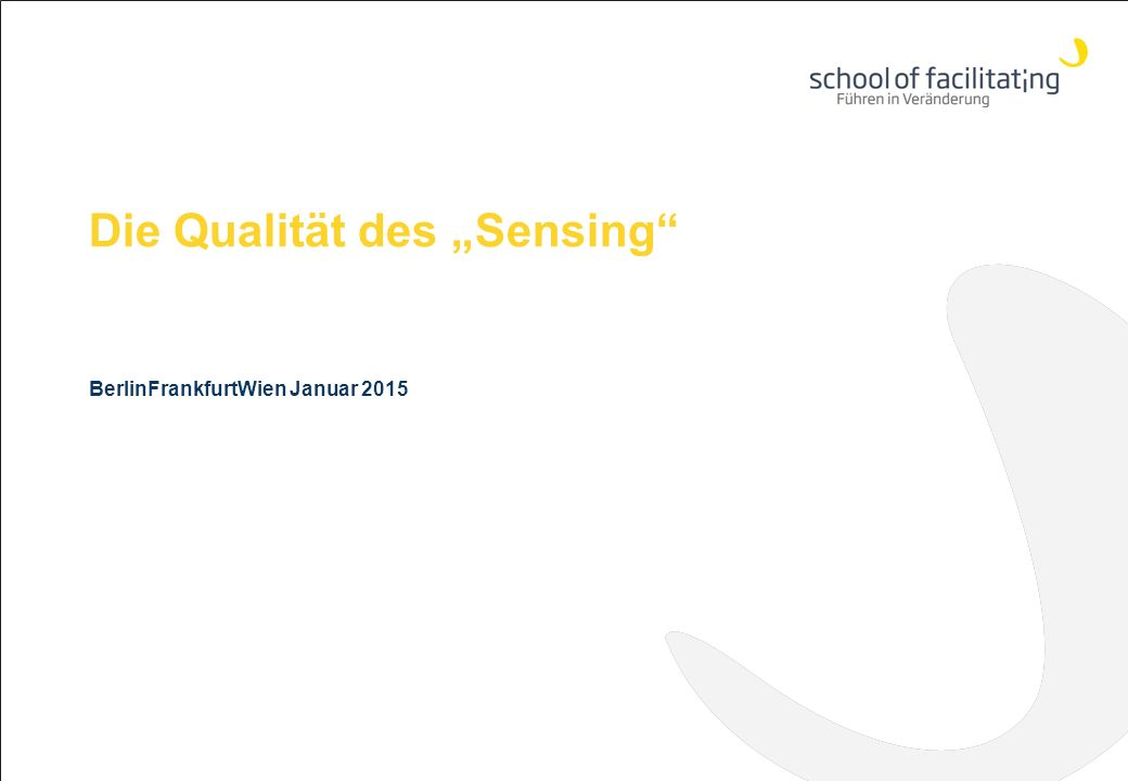 "Die Qualität des ""Sensing BerlinFrankfurtWien Januar 2015"