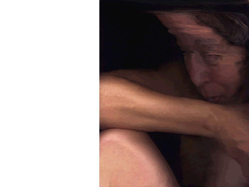 Körper und Sprache Body and Language Zufall Aufnahme beim Scannen