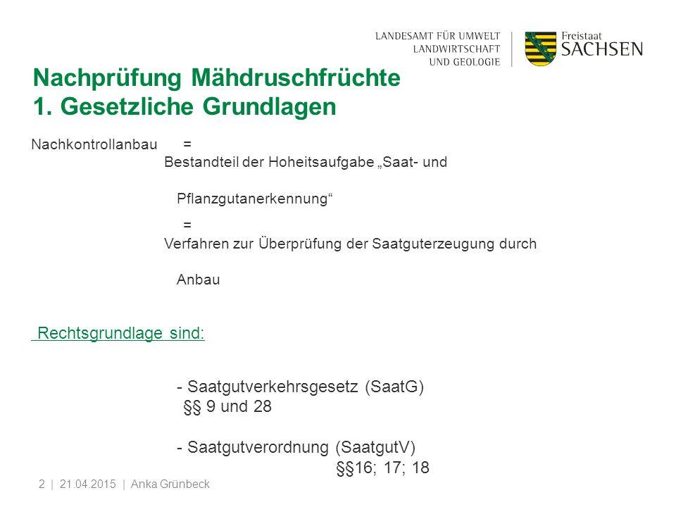 | 21.04.2015 | Anka Grünbeck2 Nachprüfung Mähdruschfrüchte 1.
