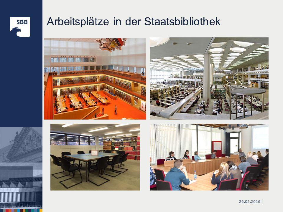 26.02.2016 | Arbeitsplätze in der Staatsbibliothek