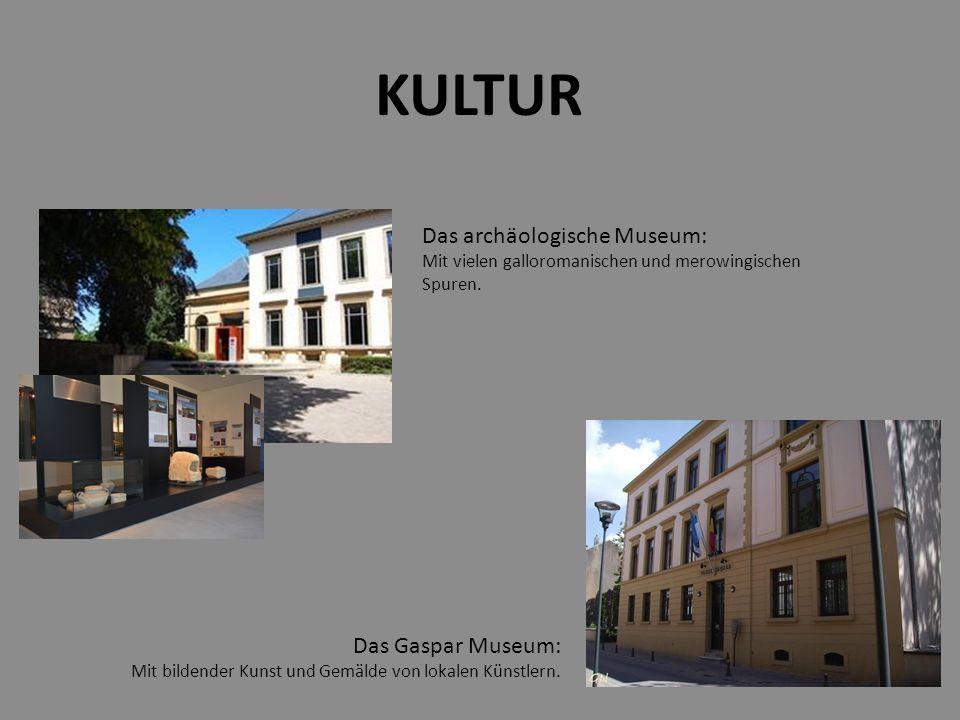Das archäologische Museum: Mit vielen galloromanischen und merowingischen Spuren.