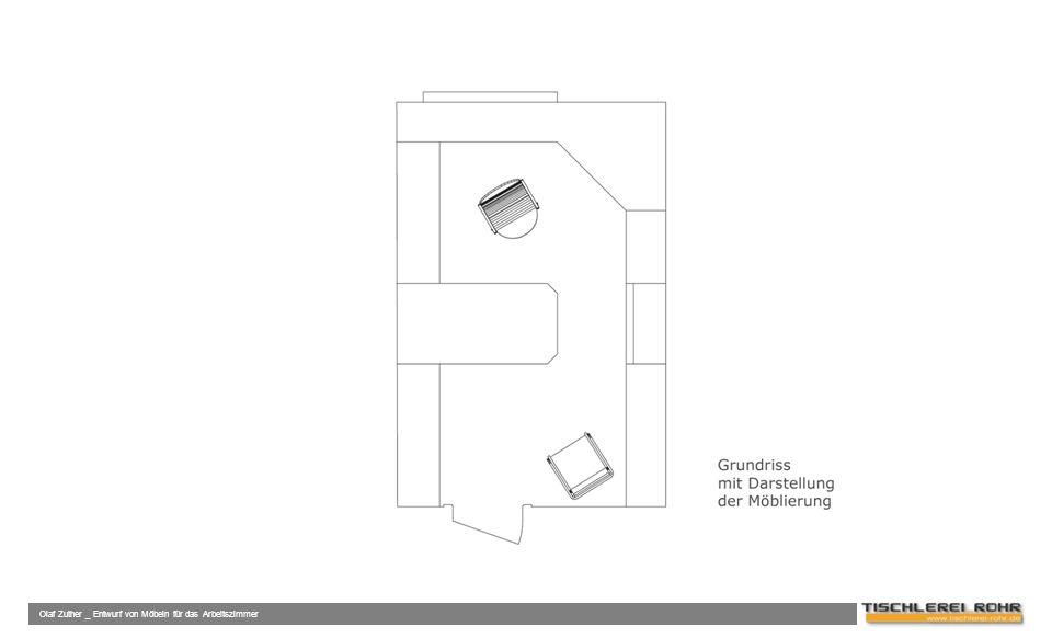 Olaf Zuther _ Entwurf von Möbeln für das Arbeitszimmer