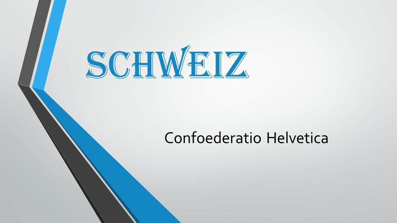 Schweiz Confoederatio Helvetica