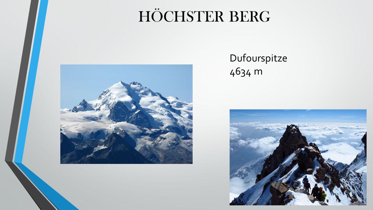 HÖCHSTER BERG Dufourspitze 4634 m