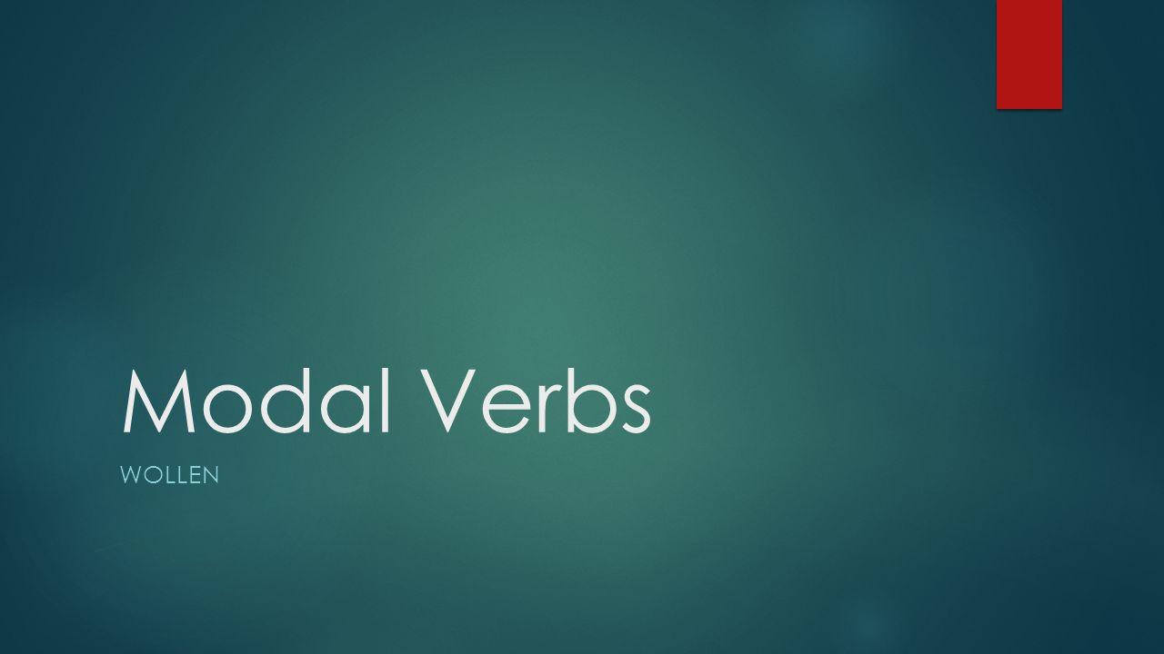 Modal Verbs Definition: A modal verb (also modal , modal auxiliary verb , modal auxiliary ) is a type of auxiliary verb that is used to indicate likelihood, ability, permission, and obligation.