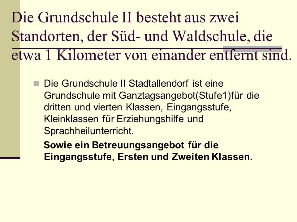 Grundschule II Stadtallendorf. Waldschule Standort: Schulstrasse 10 35260 Stadtallendorf