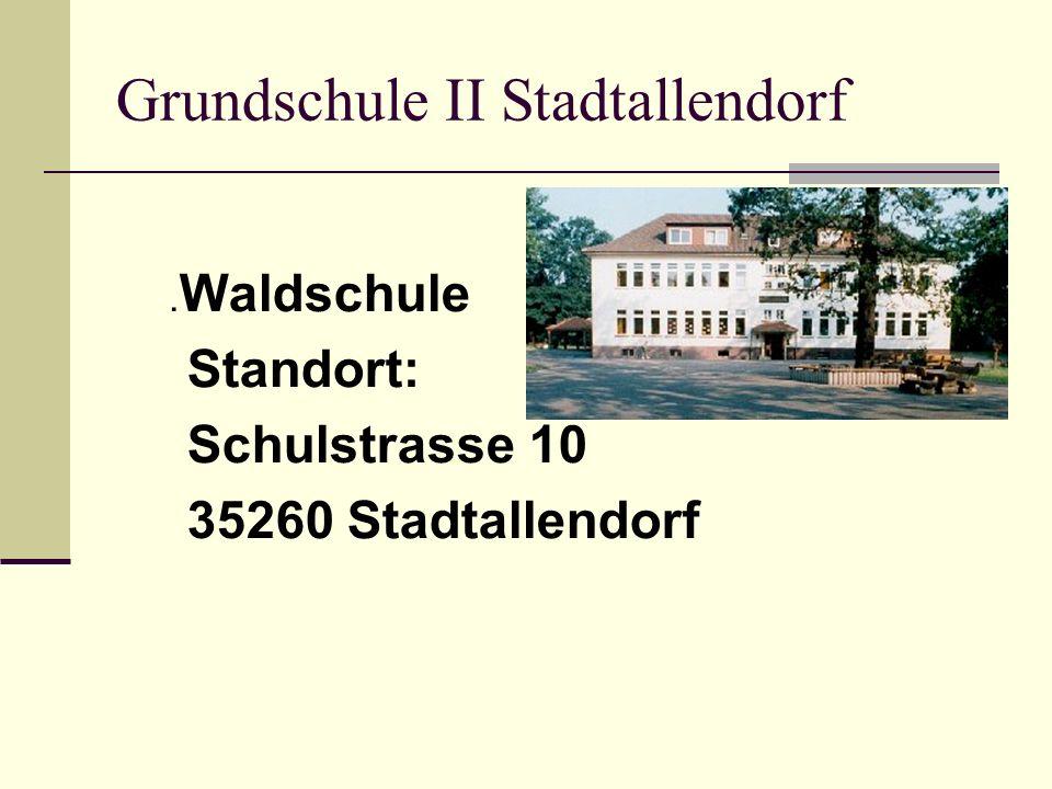 Zur soziologischen Situation Stadtallendorf ist eine noch junge Industriestadt mit 20.000 Einwohnern im ländlichen Umfeld.