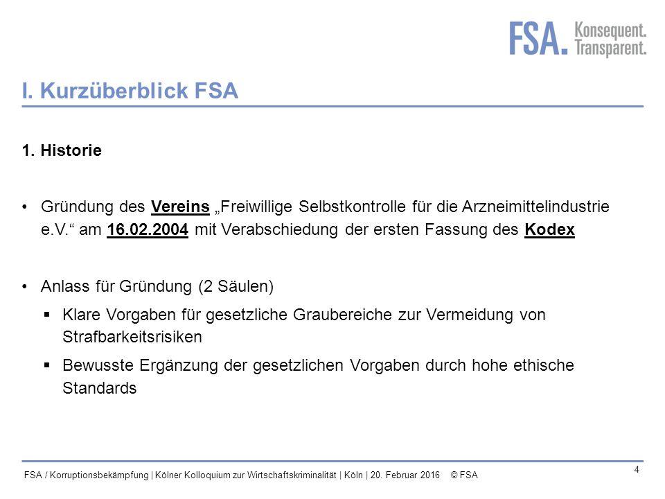 Mastertitelformat bearbeiten 5 FSA / Korruptionsbekämpfung | Kölner Kolloquium zur Wirtschaftskriminalität | Köln | 20.