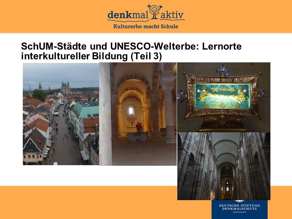 SchUM-Städte und UNESCO-Welterbe: Lernorte interkultureller Bildung (Teil 3)