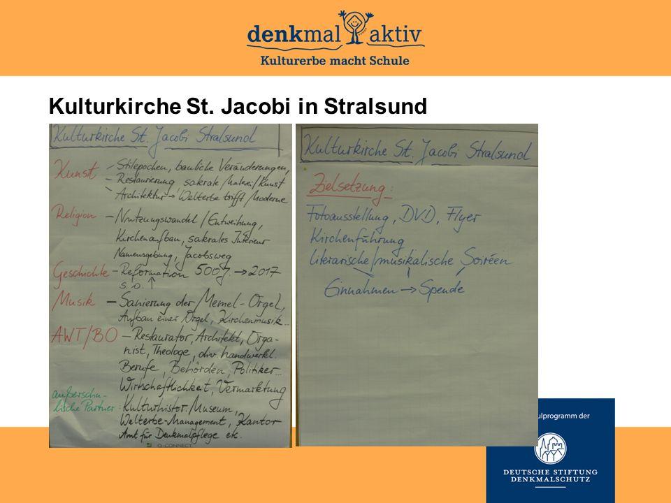 Kulturkirche St. Jacobi in Stralsund