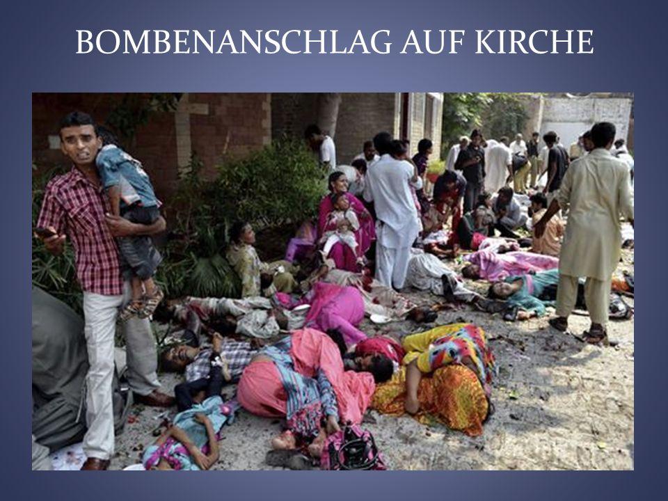 BOMBENANSCHLAG AUF KIRCHE