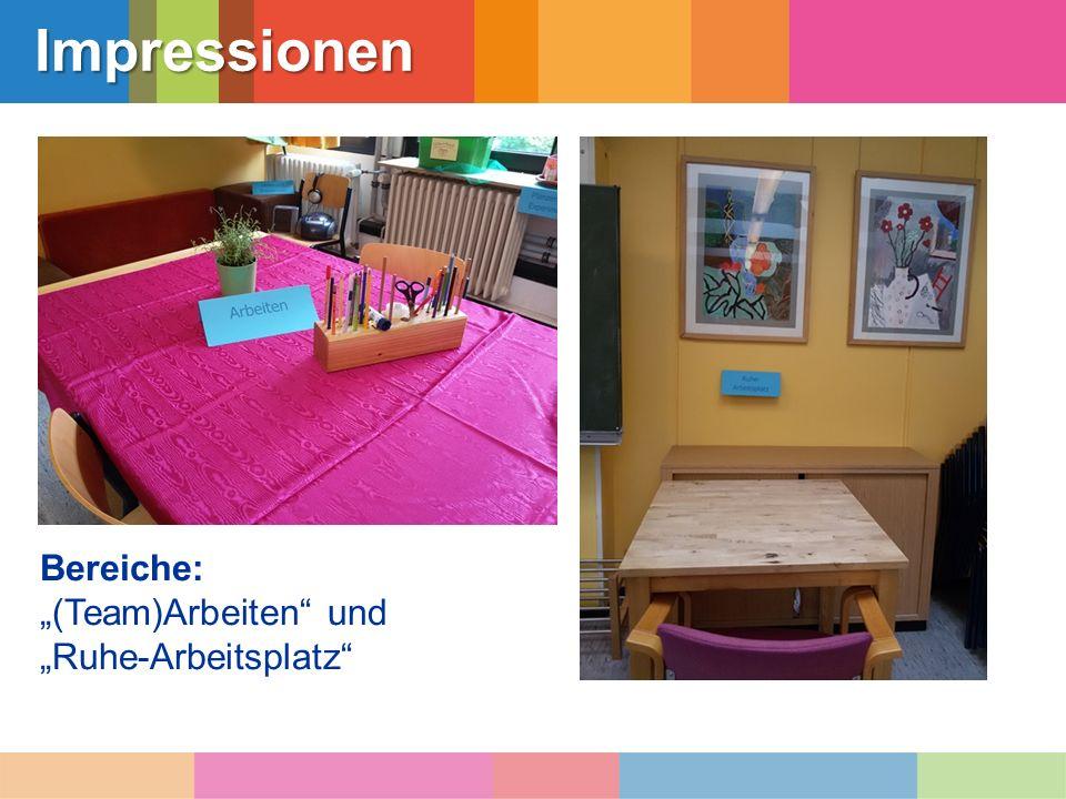 """Impressionen Bereiche: """"Bewegung , """"Spiel und """"Pflanzen und Experimente"""