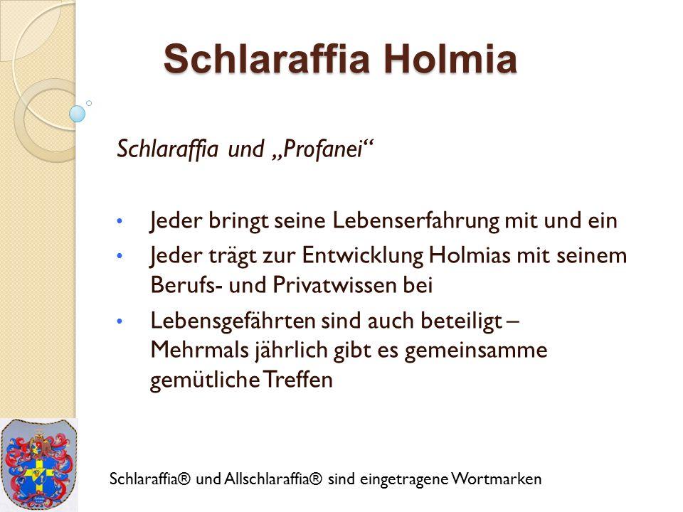 Schlaraffia Holmia Neugierig.