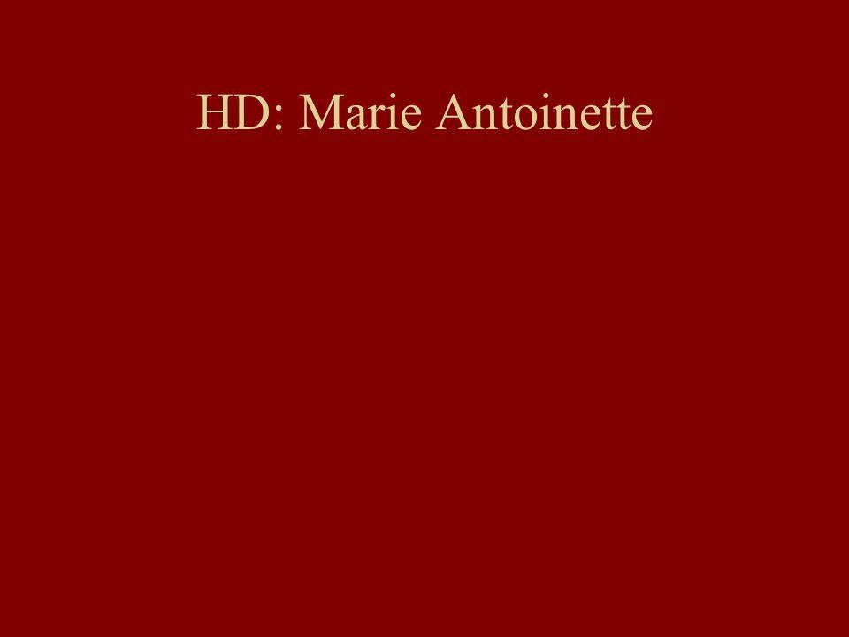 HD: Marie Antoinette