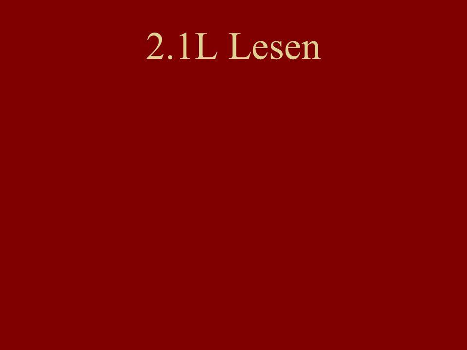 2.1L Lesen