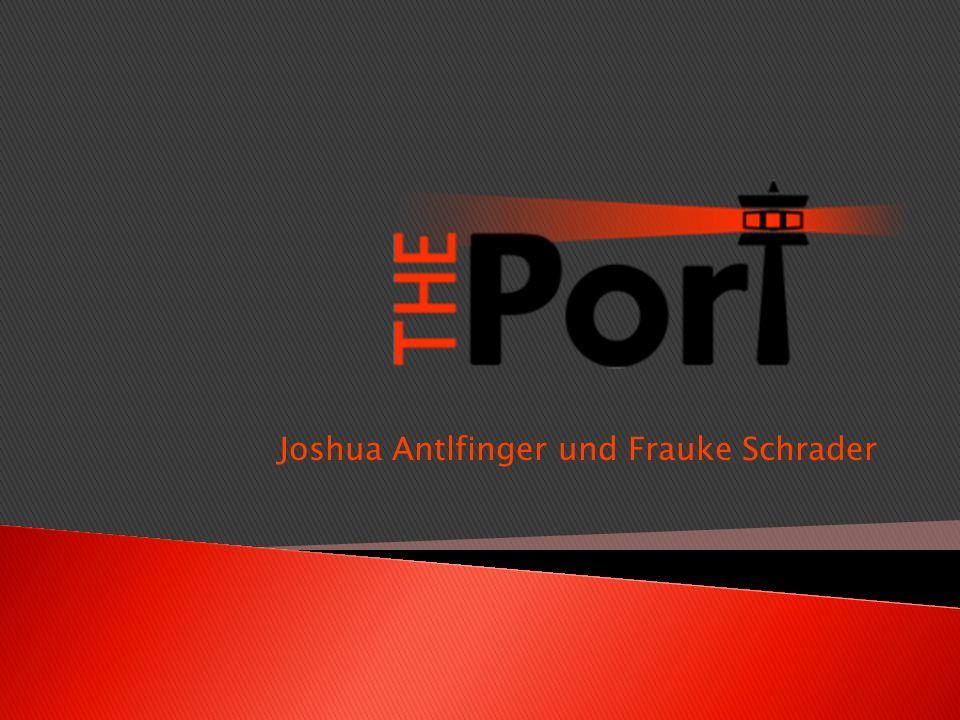 Joshua Antlfinger und Frauke Schrader