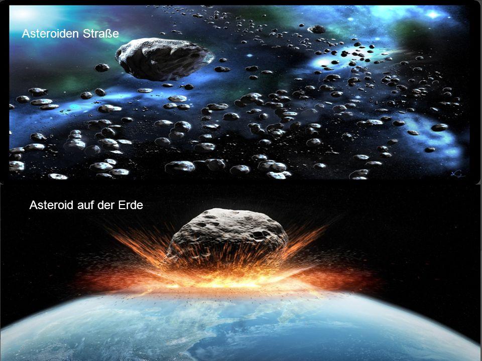 Das Universum besitzt Meteoriten die jeden Tag durch das Universum schweben.