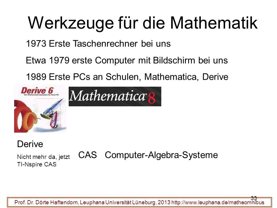 Werkzeuge für die Mathematik Prof. Dr.