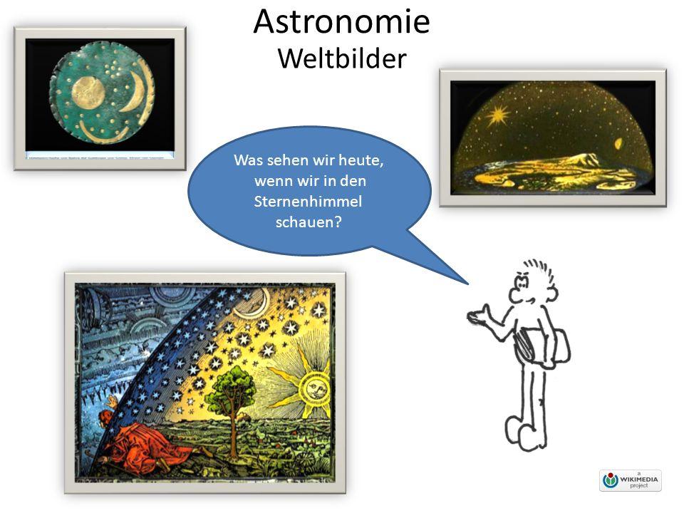 Astronomie Mystische Weltbilder gibt es fast so viele wie Kulturen, denn jede Kultur wollte Erklärungen darüber, wie die Welt beschaffen ist.