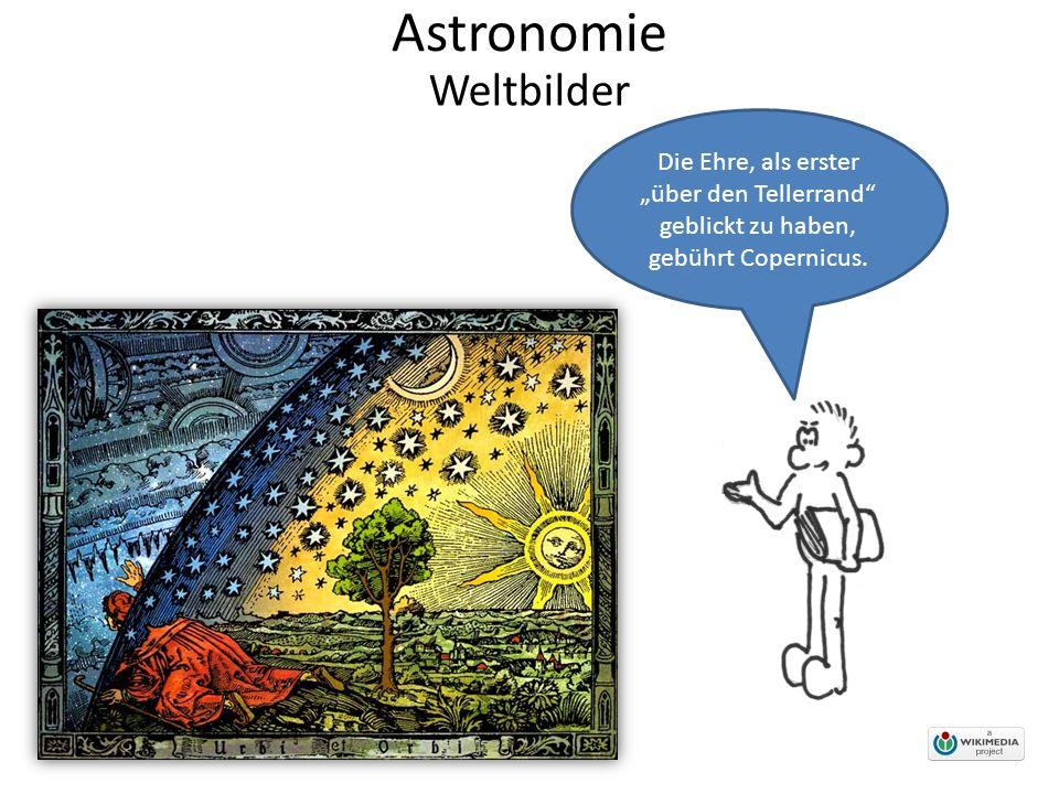 """Astronomie Die Ehre, als erster """"über den Tellerrand geblickt zu haben, gebührt Copernicus."""