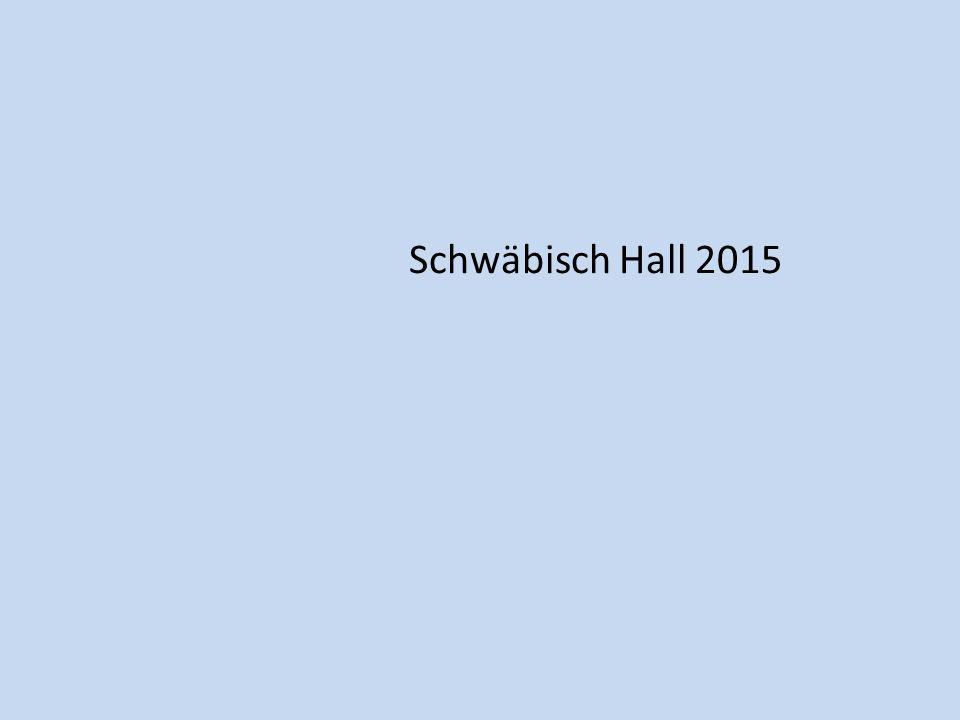 Schwäbisch Hall 2015