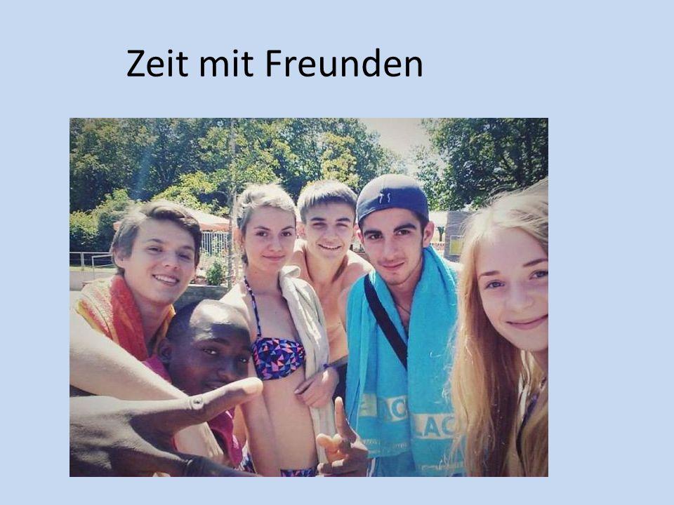 Zeit mit Freunden