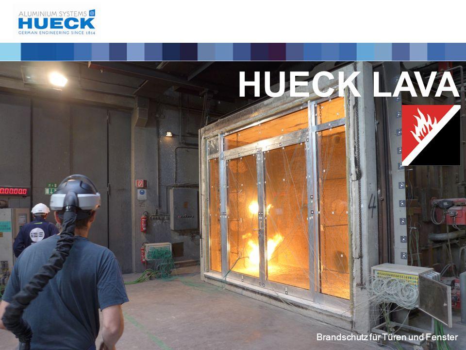 """HUECK - Systembaukasten Ein Profilsystem für """"Alles Lambda Lava + Aus zahlreichen Systemen verschiedener Anforderungen bis zu höchsten Sicherheitsanforderungen wird EIN SYSTEM"""