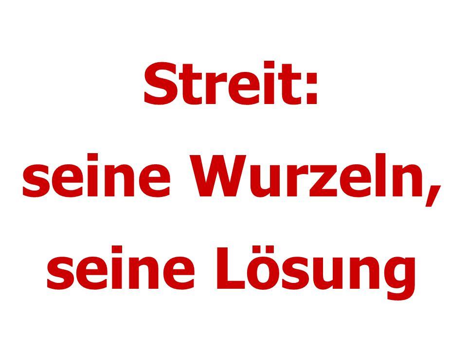"""Konflikt/Streit: """"Woher kommt..."""