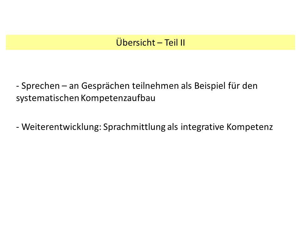 Inhaltsbezogene Kompetenzen: Kompetenzaufbau 1.FS, Klassen 5/62.