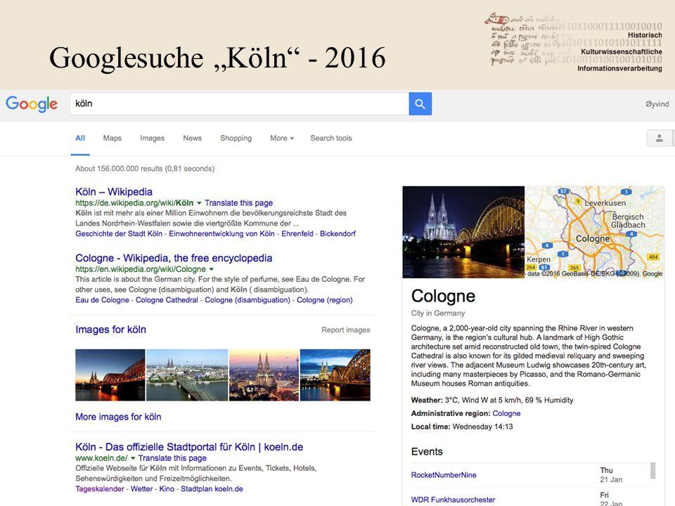 "Googlesuche ""Köln - 2016"